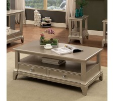 Letitta Coffee Table with Drawers