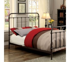 Iris Queen Metal Bed Frame