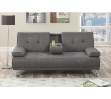 Corbin Sofa Bed with tray and cupholder