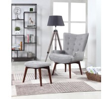 Scott Chair and Ottoman
