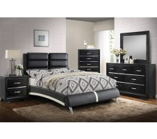 Zorro Queen Platform Bed Frame