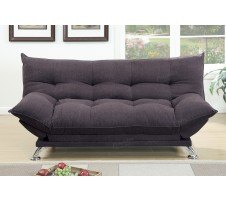 Kemi Adjustable Sofa in dark coffee
