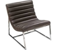 Bardot Lounge Chair in black