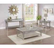 720888 Leighton Coffee Table Mercury finish