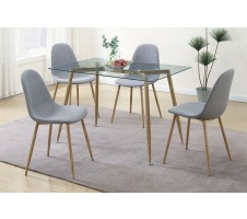 Kora 5 Piece Dining Set