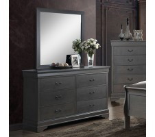 Louis Phillipe Dresser in grey