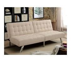 Arielle Futon Sofa in  Beige