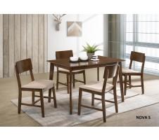 SALE! 5pc. Nova Mid Century Modern Dining Set
