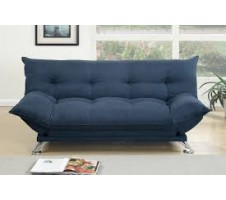 Kemi Adjustable Sofa Bed in Blue
