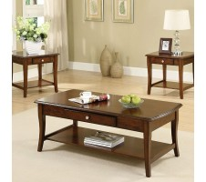 Lincoln Park 3pc Coffee Table Set