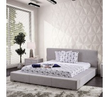 SALE ! Canaves Queen Platform Bed in Light Gray