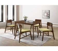 SALE! Miami 5pc. Mid Century Modern Dining Set