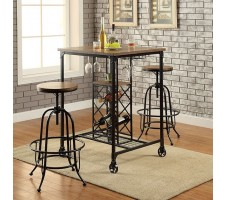 Sylvia 3pc Bar Set