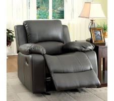 Charles Recliner in grey