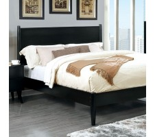 Wilton Platform Queen Bed Frame in black