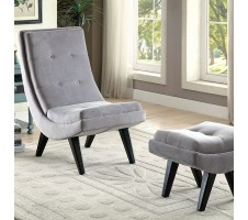 Esmeralda Chair and Ottoman Set
