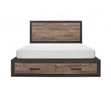 SALE! Miter Queen Platform bed with Drawer
