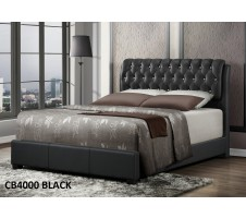 Cb4000 Queen Bed Frame in Black