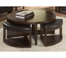 Brussel Coffee Table with 4 stools