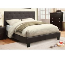 Perdel Queen Platform Bed & Queen MATTRESS