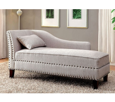 Miller Chaise Lounge in Beige
