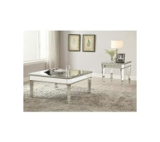 Galleria Square Mirrored Coffee Table
