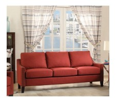 Zapata Sofa in red