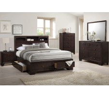 Elmwood Queen Bed Frame with Storage