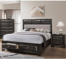 Zaphir Queen Platform Bed with Drawers