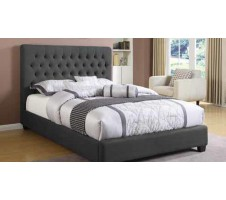 Jupiter Bed Frame in Charcoal