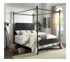 Beatrix Queen Canopy Bed Frame
