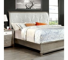 Bryant Queen Bed Frame in silver