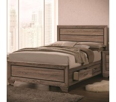 Kauffman Queen Platform Bed with Drawers