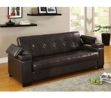 Enrico Sofa Bed with Storage & cup holder