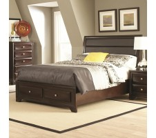 Newbridge Queen Bed frame with Storage