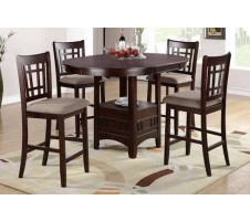 Zuo 5pc Counter Height Dining set with Leaf