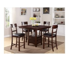 Tatiana 5pcs Counter Height Dining Set