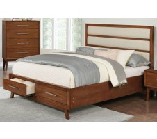 Banning Queen Platform Bed Frame with Drawers