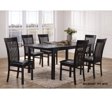 Belmont 7pc. Dining Set with extension leaf