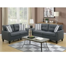 SALE! Casey 2pc. Sofa and Loveseat with Accent Pillows