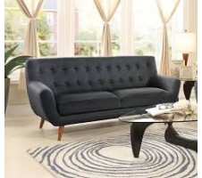 Anke Sofa in dark grey
