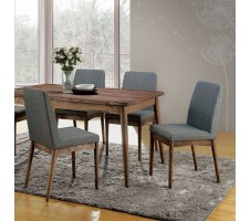 Conway 5pc. Dining Set in natural finish