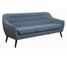 Knottley Mid Century Sofa in blue