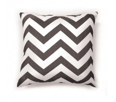 Chevron Pillow grey