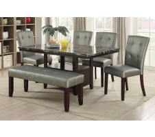 Martini 6pc Dining set with Storage