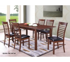 Modway 7pc Dining Set with Leaf