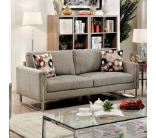 Lauren Contemporay Pewter Sofa