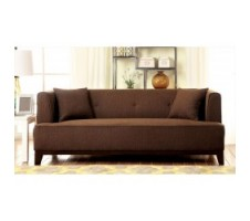 Enez Sofa in Dark Brown