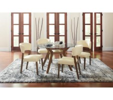 Parthena 5pc Dining Set