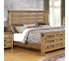 Avantgarde Queen Bed in Weathered Elm